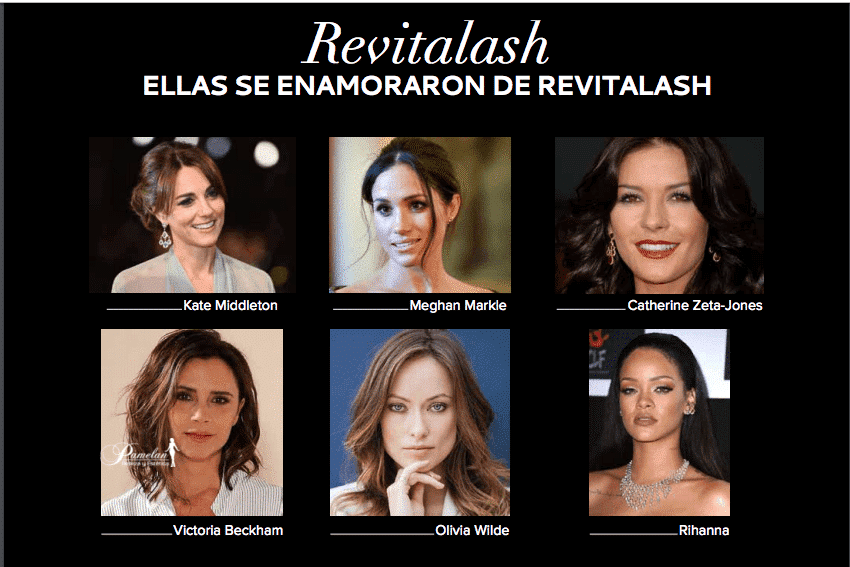 usuarias de revitalash