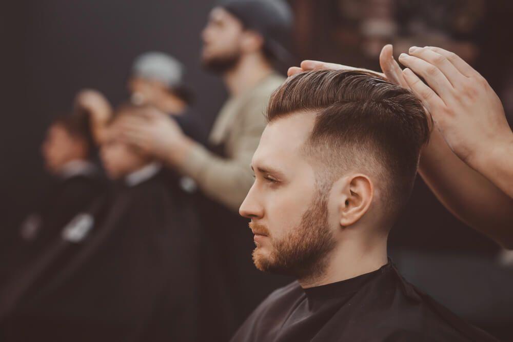 corte cabellos varones